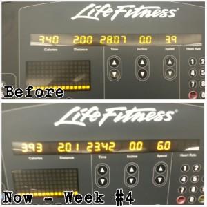 Treadmill Progress 2.0 Miles Week#4