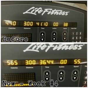 Treadmill Progress 3.0 Miles Week#4