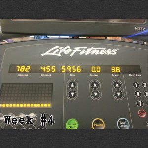 Treadmill Progress Week#4