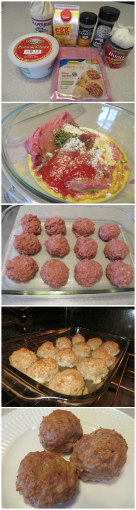 Turkey Meatball Recipe Steps