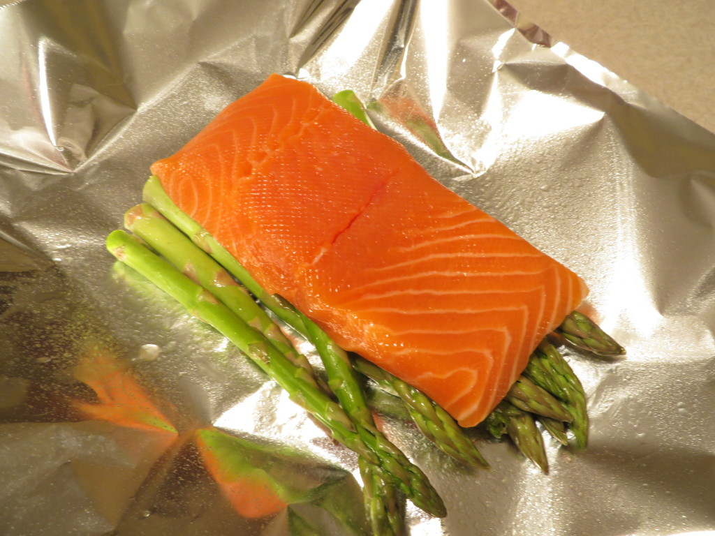 Well Placed Salmon & Asparagus
