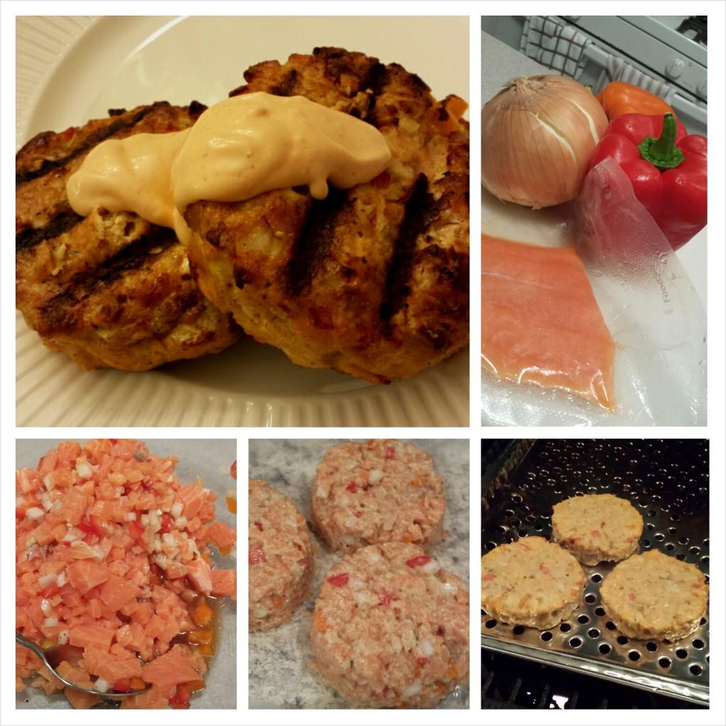 BBQ Salmon Fish Cakes